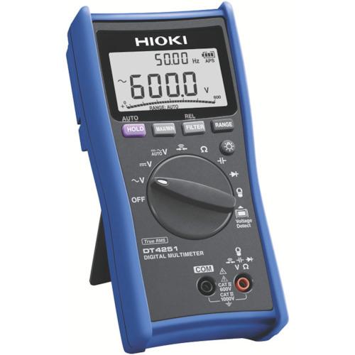 日置電機 HIOKI デジタルマルチメータ DT4221 DT4221