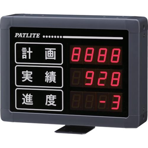 パトライト パトライト VE型 インテリジェント生産管理表示板 VE25304S