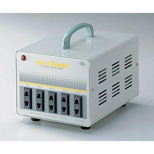 スワロー電機 100~240V対応 マルチ変圧器 1500W SU-1500【納期目安:2週間】