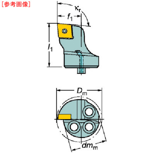 サンドビック サンドビック コロターンSL コロターン107用カッティングヘッド 570SCLCR2009