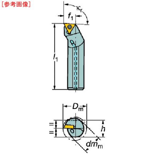 サンドビック サンドビック コロターン107 ポジチップ用超硬ボーリングバイト E10MSTFCR09R