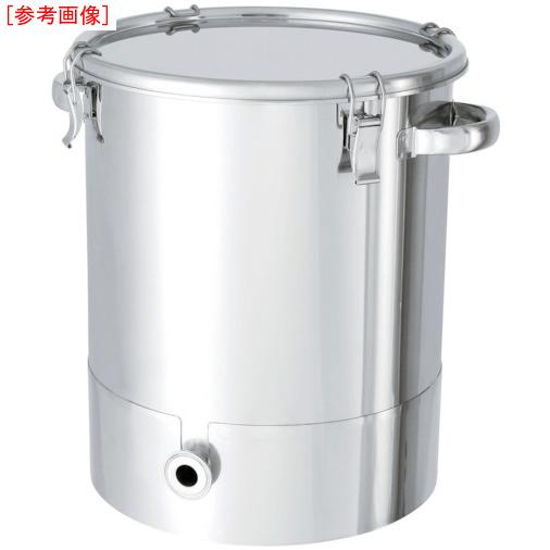 日東金属工業 日東 ステンレスタンク片テーパー型クリップ式密閉容器 100L KTTCTH47H