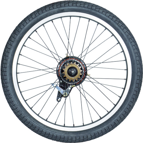 トラスコ中山 TRUSCO THR-5520用 ノーパンクタイヤ 後輪 THR20TIRER