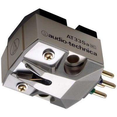 オーディオテクニカ MC型(デュアルムービングコイル)ステレオカートリッジ AT33Sa AT-33SA【納期目安:3週間】