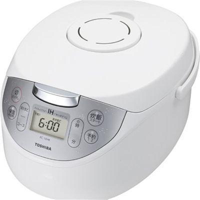 東芝 (W) IH炊飯器 かまど銅コート釜 (5.5合炊き) ホワイト RC-10HK-W【納期目安:約10営業日】