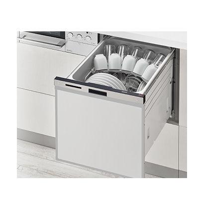 リンナイ ビルトイン食器洗い乾燥機スライドオープンタイプ RSW-404A-SV