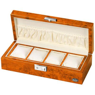 LUHW(ローテンシュラガー) 木製時計4本収納ケース ライトブラウン/薄木目 LU51005RW