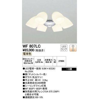 ODELIC シーリングファン WF807LC