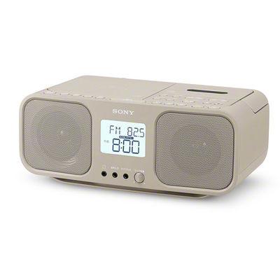 ソニー CDラジオカセットレコーダー CFD-S401-TI