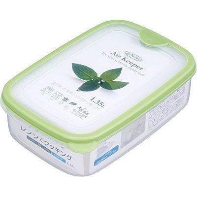 岩崎工業 保存容器 エアキーパー フードケース L グリーン A-032 SG【60個セット】 4901126003233