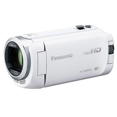 パナソニック 約251万画素 デジタルハイビジョンビデオカメラ 光学ズーム50倍 HC-W585M-W