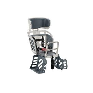 その他 ヘッドレスト付き後ろ用子供乗せ(自転車用チャイルドシート) 【OGK】RBC-009DX3 Wグレー(灰) 〔自転車アクセサリー〕 ds-1634841