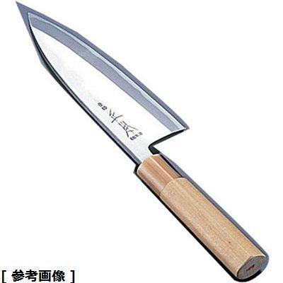 正本 正本本霞・玉白鋼出刃庖丁(19.5cm) AMS40019