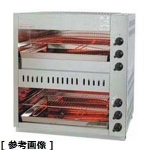その他 ガス赤外線上火式グリラーダブルタイプ DGLD502