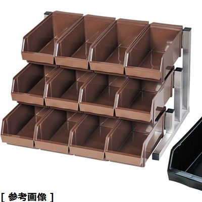 TKG (Total Kitchen Goods) TKG18-8スマートオーガナイザー(3段4列(12ヶ入) ブラック) EOC3202