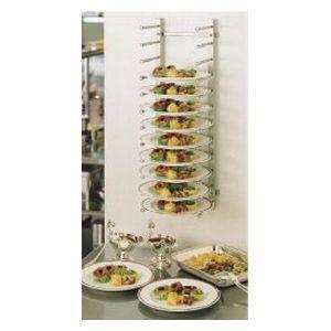 TKG (Total Kitchen Goods) SA18-8壁掛式ディッシュ・スタック HDI04