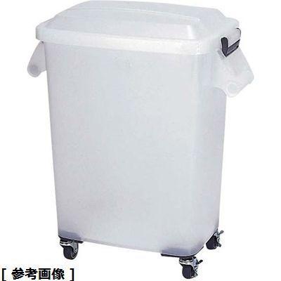 その他 厨房ペール半透明(キャスター付) KPC3802