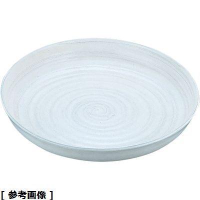 TKG (Total Kitchen Goods) アルミ電磁用ドラ鉢白刷毛目(尺2) NDL0302