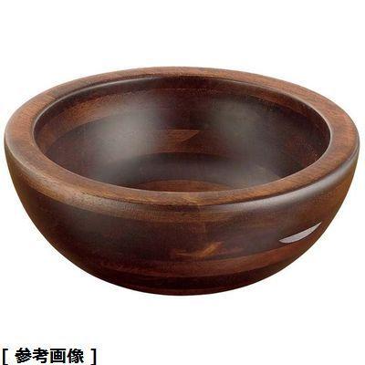 ヤマコー 木製惣菜くり鉢深型(中 44283) PSC9602