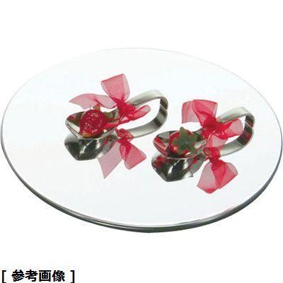 TKG (Total Kitchen Goods) アクリルブッフェトレイ丸ミラー NBT0503