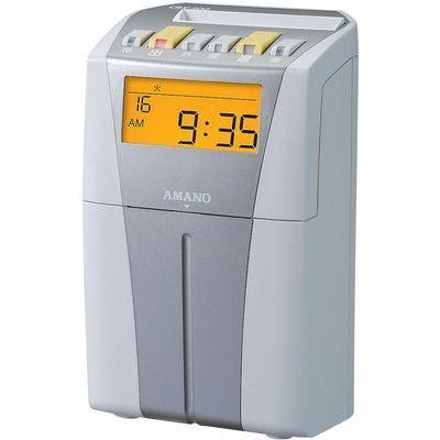 アマノ 電子タイムレコーダー(CRX-200 シルバー) XTI1802