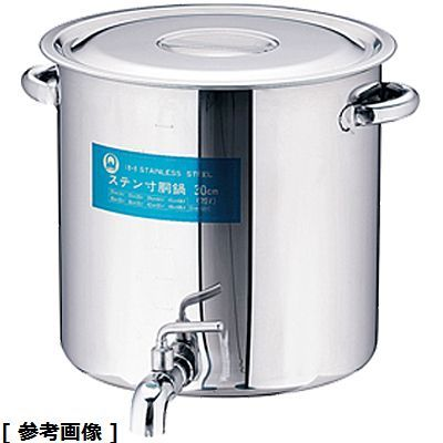 TKG (Total Kitchen Goods) SA18-8蛇口付寸胴(目盛付) EZV01033