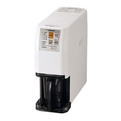 象印 家庭用無洗米精米機(5合用) 「つきたて風味」 ホワイト BT-AG05-WA【納期目安:約10営業日】