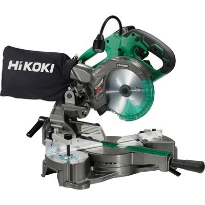 HiKOKI(日立工機) 【36V】【MULTI VOLT(マルチボルトシリーズ)】コードレス卓上スライド丸のこ(マルチボルト蓄電池*1個/急速充電器/ケース/チップソー付属) C3606DRA(XP)
