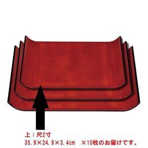 その他 (業務用10枚セット) 表参道トレー/耐熱お盆  食器洗浄機使用可 和風 和モダン  ds-1854335