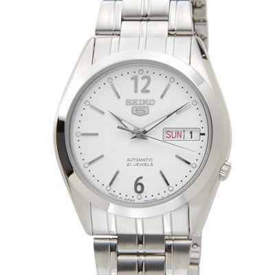 SEIKO セイコー SNKE93J1 SEIKO5 セイコーファイブ 日本製 自動巻き ホワイト メンズ 腕時計 SESNKE93J1