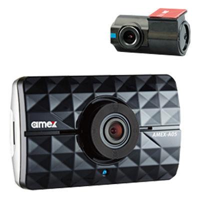 青木製作所 ドライブレコーダー(1ch+1ch) フォーマットフリー・2カメラ対応・リアカメラ付属 AMEX-A05W