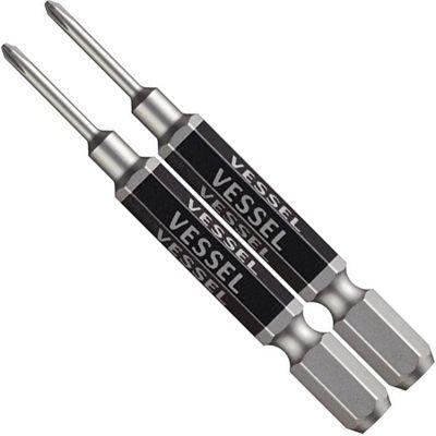 送料無料 ベッセル VESSEL メイルオーダー GS160065 新商品 新型 片頭精密タイプ剛彩ビット+0X65mm 2本組