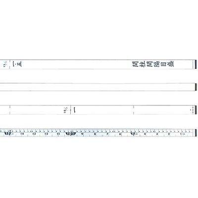 シンワ測定 尺杖12尺 併用目盛 65132 4960910651326