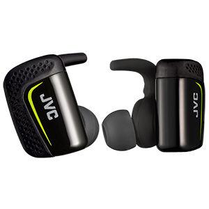 ビクター Bluetooth 搭載スポーツ用ヘッドホン(ブラック) HA-ET900BT-B