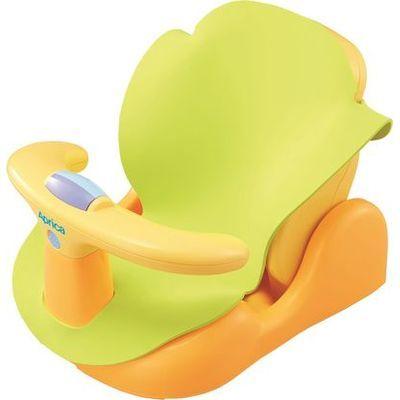 【送料無料】 アップリカ はじめてのお風呂から使える バスチェア イエローYE 4969220915937