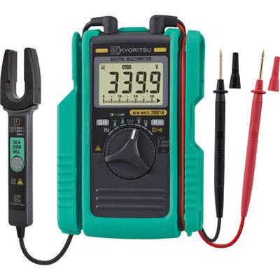共立電気計器 AC/DCクランプ付デジタルマルチメータ 2001A
