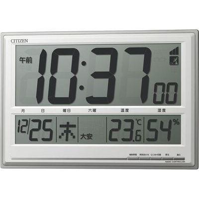 遠藤商事 シチズン掛置兼用電波時計 8RZ199-019 8RZ199-019