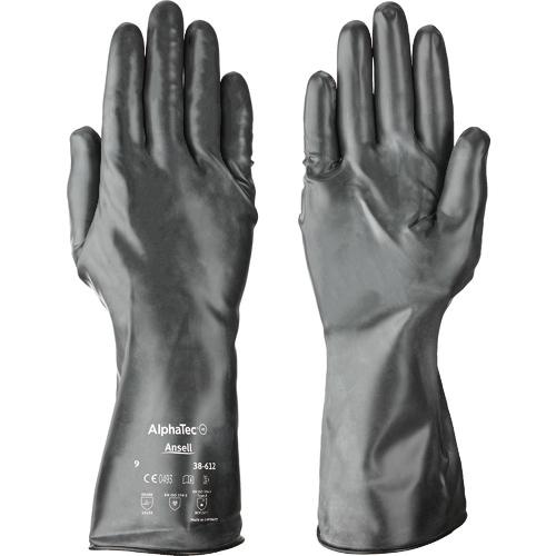 トラスコ中山 アンセル 耐薬品手袋 アルファテック 38-612 Lサイズ 386129