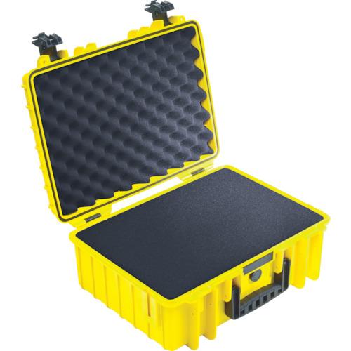 トラスコ中山 B&W プロテクタケース 5000 黄 フォーム 5000YSI
