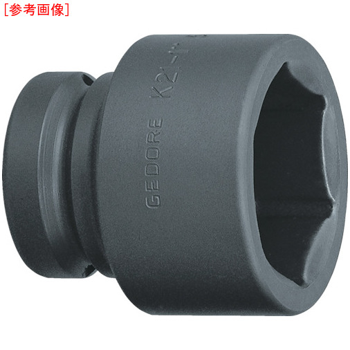 トラスコ中山 GEDORE インパクト用ソケット(6角) 1 K21 65mm 6184460
