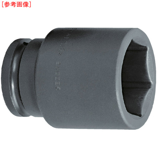 トラスコ中山 GEDORE インパクト用ソケット(6角) 1・1/2 K37L 50mm 6330460