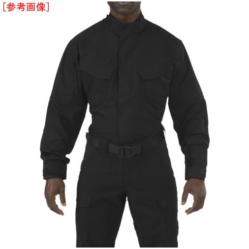 トラスコ中山 5.11 ストライク TDU LSシャツ ブラック S 72416019S