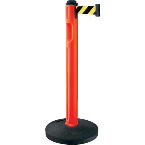 トラスコ中山 スガツネ工業 290-036302 屋外用ベルトパーテーション 注水 柱橙 黄黒 805000ORSF