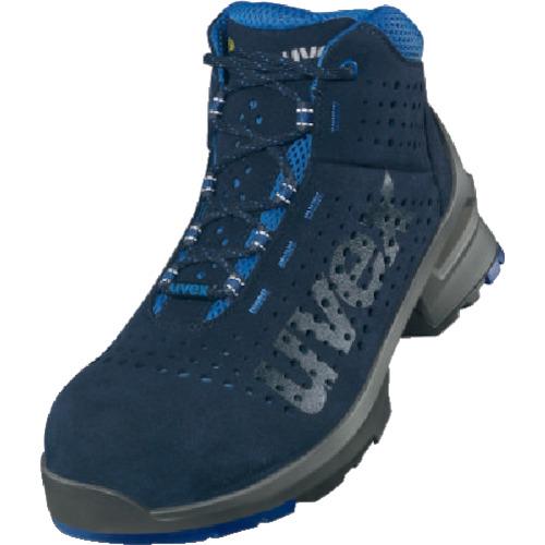 トラスコ中山 UVEX ブーツ ネイビー 25.5CM 8532.44
