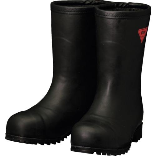 トラスコ中山 SHIBATA 防寒安全長靴 セーフティベアー#1011白熊(フード無し) AC12126.0