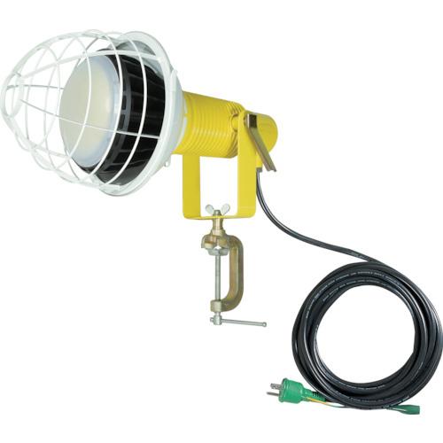 トラスコ中山 日動 LED安全投光器100W ワイド 昼白色 E付(2PNCT電線5m) ATLE10005PNW50K