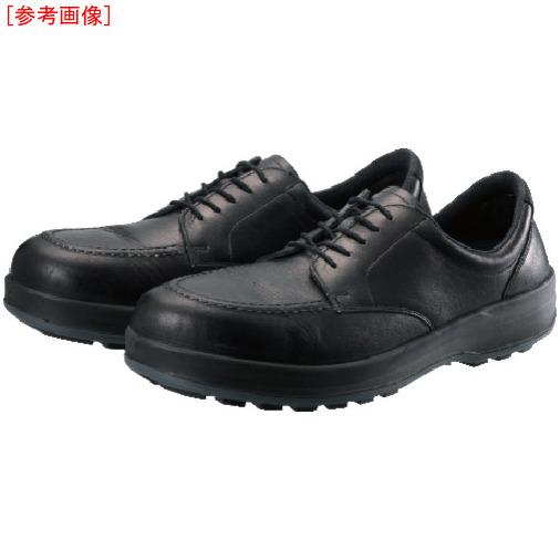 トラスコ中山 シモン 耐滑・軽量3層底静電紳士靴BS11静電靴 25.5cm BS11S255