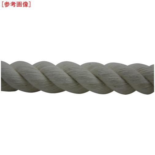 トラスコ中山 ユタカメイク ロープ 綿ロープ巻物 16φ×200m C16200