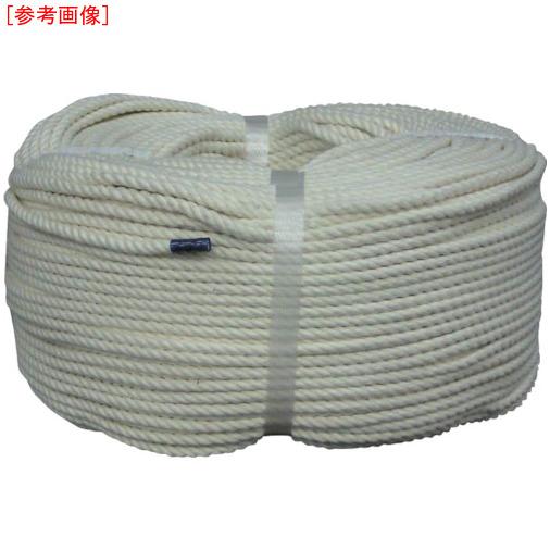 トラスコ中山 ユタカ ロープ 綿ロープ巻物 5φ×200m C5200