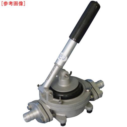 トラスコ中山 アクアシステム ハンドダイヤフラムポンプ オイル 水 泥水(移送・非常用) HDO20ALA